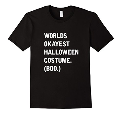 Mens Lazy Halloween Costume T-Shirt Ironic Funny Tee Small Black