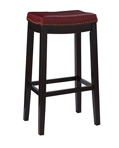 Linon Claridge Bar Stool, 32