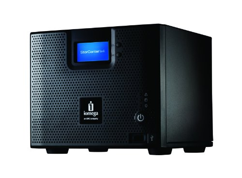 Iomega StorCenter ix4-200d 4TB (4 x 1TB) Network Storage Cloud Edition - 35436 (Iomega Ix2)