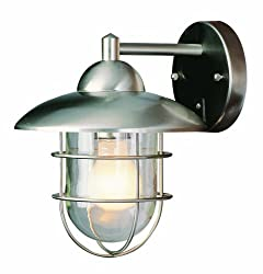 Trans Globe Lighting 4371 ST Coastal Coach 12-Inch Outdoor Wall Lantern