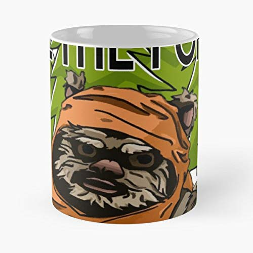 Ewok Forest Save The Wicket - Ceramic Novelty Mugs 11 Oz, Funny Gift