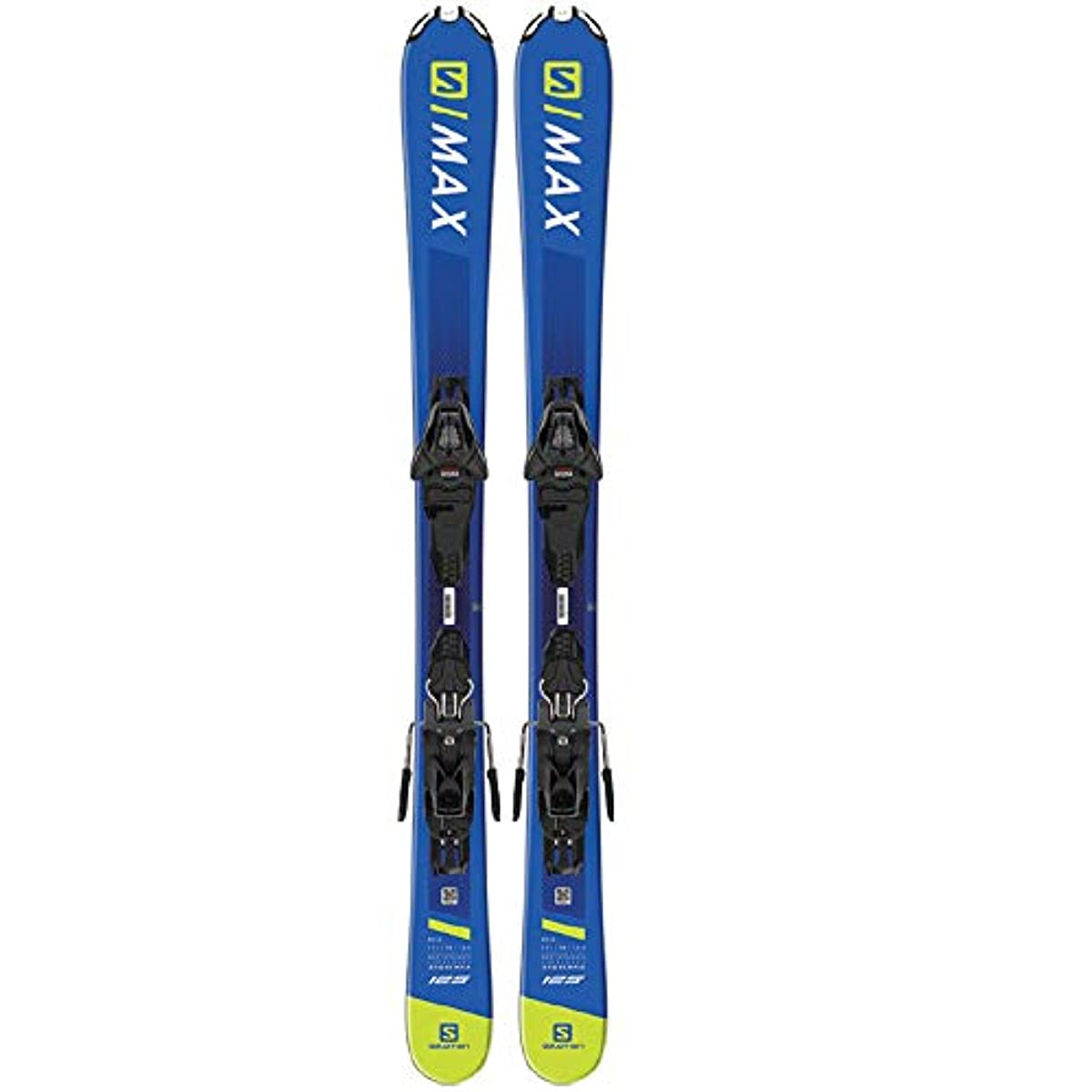 [해외] 살로몬SALOMON 스키 스키 판 2019-20년 모델  빈딩 부착  SHORTMAX 120 + L10 GW 쇼트 맥스 L40882200125/L40589900125 BLUE/YELLOW 3~10 개방치 선택