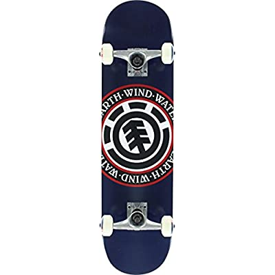 Element Seal Complete Thriftwood Skateboard, 7.75, Navy : Sports & Outdoors