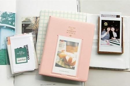 64 Photos, Black Instax SP-2 Polaroid PIC-300 Z2300 Films CAIUL Compatible Pieces of Moment Book Album for Fujifilm Instax Mini 8 8+ 9 7s 70 90 25 26 50s