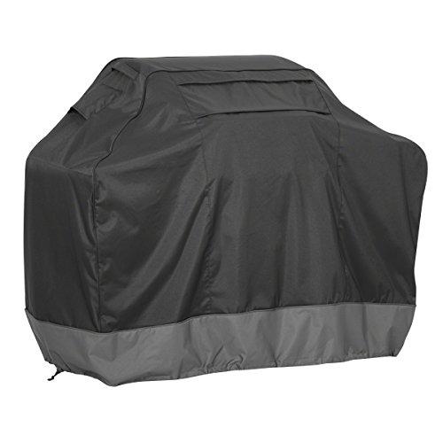 Classic Accessories 55-497-370401-WB Veranda Black Fade Safe Grill Cover For Weber Summit 6-Burner Gas