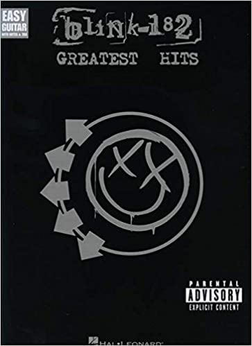 Amazon.com: blink-182 - Greatest Hits (Easy Guitar with Notes & Tab ...