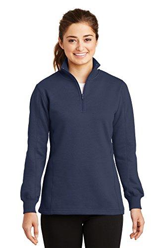 Womens 1/4 Zip Fleece - 6