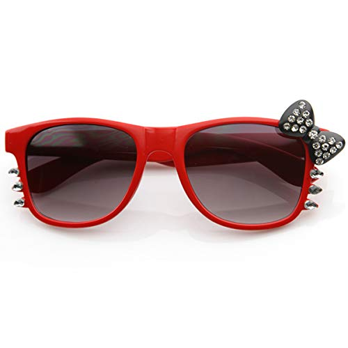 f8ddf8a6ca Image Unavailable. Image not available for. Color  HELLO KITTY Women Sunglasses  RED Frame ...