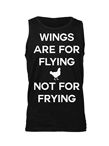 Not Chicken Camiseta Are Lying Negro Para Design Wings Mangas Sin Frying Hombre For qXxFtwxS1