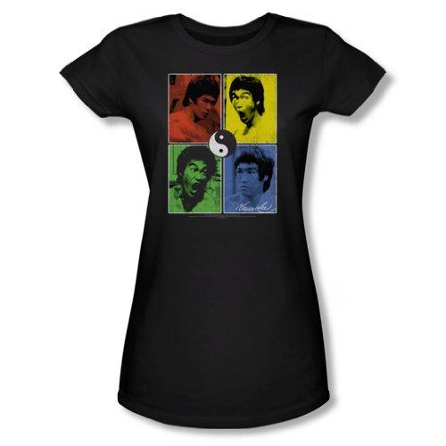 Lee Black Jeunes Femmes T Entrez shirt In Color Block Bruce dxnqPz7d
