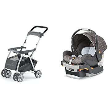 Chicco Keyfit Infant Car Seat And Base With Caddy Lilla