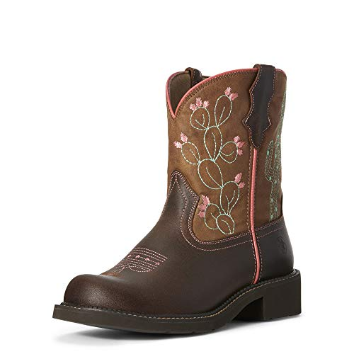 ARIAT Women's Fatbaby Heritage Cactus Western Boot Dark Hazel Size 10 B/Medium Us