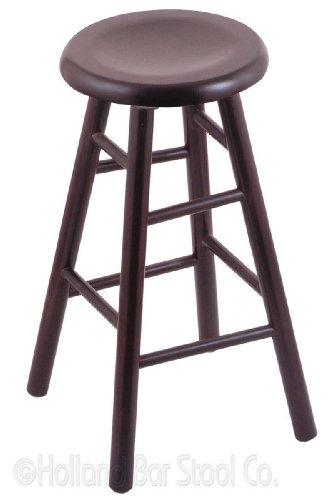 - XL Maple Extra Tall Bar Stool in Dark Cherry Finish