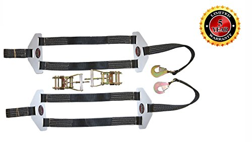 Dragster Tie Down Straps, Pair Made in the USA! by Plattinum Products (Image #1)'