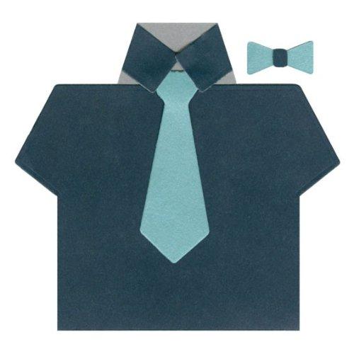 QUICKUTZ Lifestyle Crafts Shirt and Tie Card Die