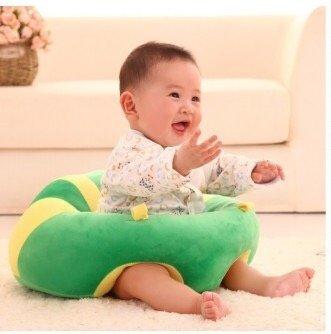 Okayji Cotton Baby Support Sitting Cushion Chair Green