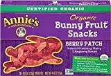 Annie'S Homegrown Organic Bunny Berry Fruit Snack ( 12x4 OZ) by Annie's Homegrown