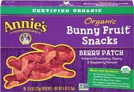 Annie'S Homegrown Organic Bunny Berry Fruit Snack ( 12x4 OZ) by Annie's Homegrown by Annie's Homegrown (Image #1)