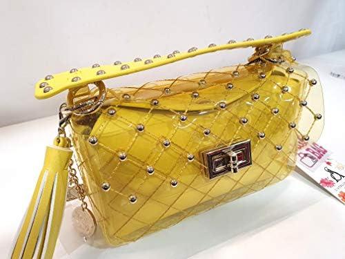 pash bag by Atelier du Sac - borsa donna pochette a mano colore giallo