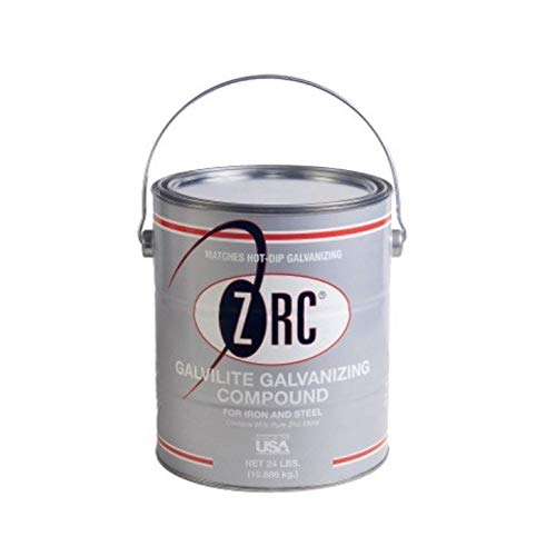 ZRC Galvalite 20013 Cold Galvanizing Compound | Single Gallon | Iron and Steel Corrosion Protection | Matches Hot-Dip Galvanized Performance | Contains 95-Percent Metallic Zinc