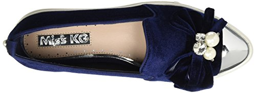 Miss KG Damen Lottie Ballerinas Blau (Navy)