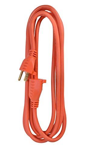 Coleman Cable 2305 16/3 Vinyl Workshop Cord, Orange, 15-Foot by Coleman Cable