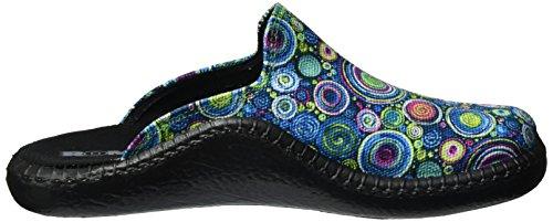 multi 126 Aqua Mokasso ROMIKA Femme Pantoufles Multicolore 5xRUYw0qw