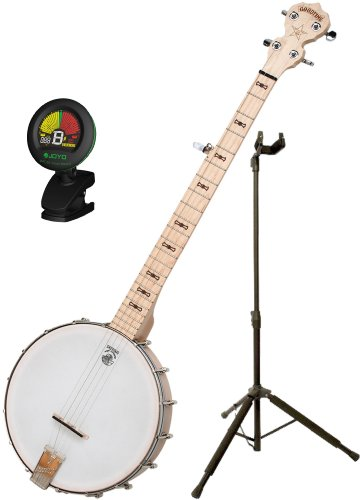 Deering Goodtime Banjo w/ DLX Stand and Tuner by Deering