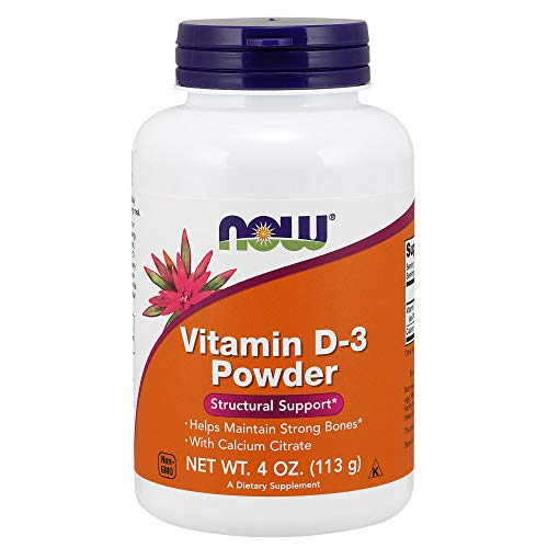 Now Vitamin d-3 Powder, 4-Ounce