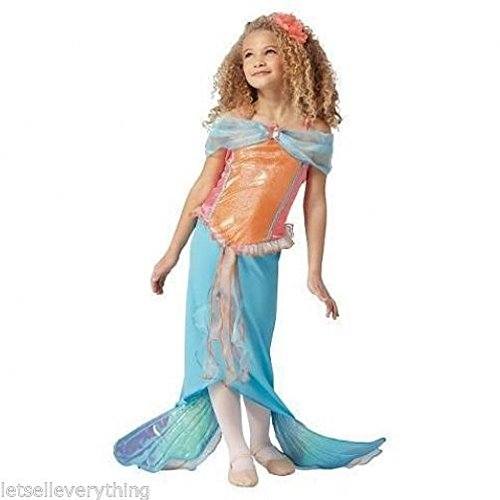 Mermaid Costume Target (Girl's Mermaid Dress Costume (Large (10-12)))