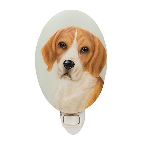 Beagle - Hand Painted Nightlight By Ibis & Orchid Design