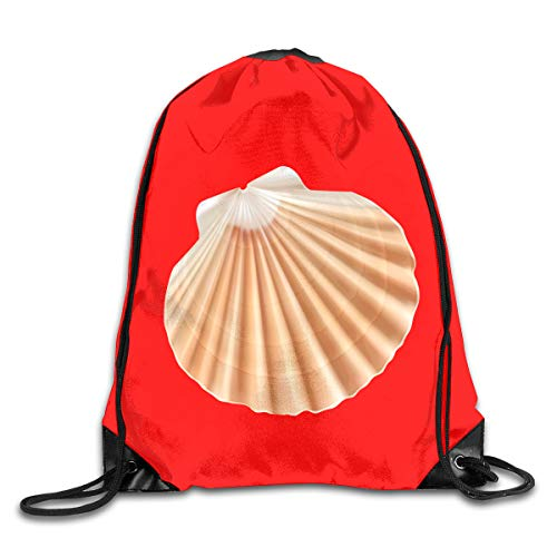 TPSXXY Shell Large Christmas Drawstring Bag Santa Present Bag Basket Gifts Sack -