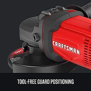 CRAFTSMAN V20 Cordless Angle Grinder Tool Kit, 4-1/2-Inch (CMCG400M1)