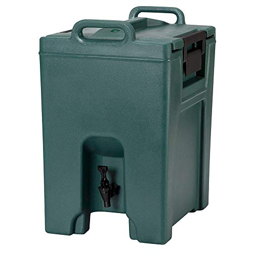 - Cambro UC1000192 10-1/2-gal Ultra Camtainer Beverage Carrier - Insulated, Granite Green