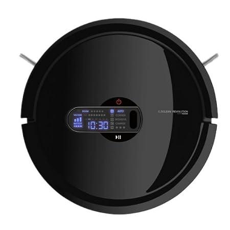 E.zicom E.ziclean Revolution Black - Robot aspirador (32 cm, 0,8 l ...