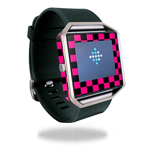 Skin+Decal+Wrap+for+Fitbit+Blaze+cover+sticker+skins+Check