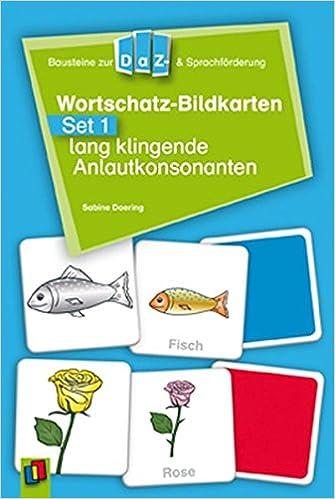 Wortschatz-Bildkarten - Set 1: lang klingende Anlautkonsonanten ...