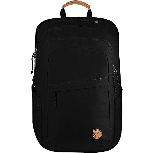 Fjallraven Raven 28L Laptop and Travel Everyday Carry Backpack - Black from Fjallraven