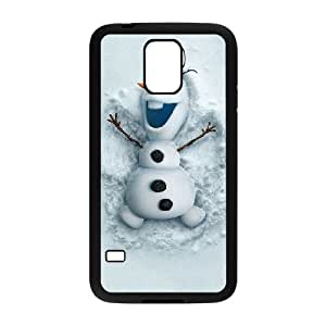 Samsung Galaxy S5 Cell Phone Case Black Olaf Frozen SUX_198628