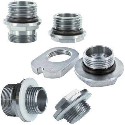 Pingel Tank Fitting Kit for Fuel-Injection to Carburetor Conversion 62052