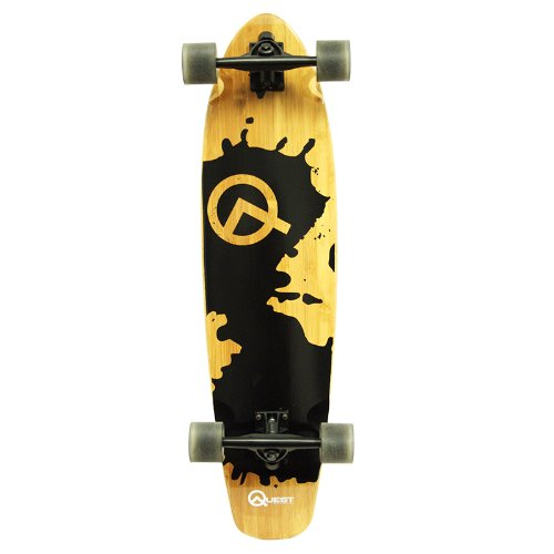 Quest Rorshack Bamboo Longboard Skateboard (34-Inch) Review