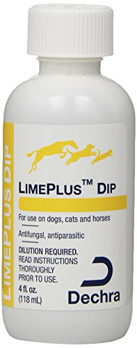 Dechra LimePlus Dip Pest Control Supply, 4-Ounce -  Dechra Veterinary Products, 021DEC-4OZ