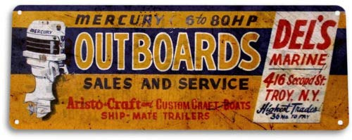 Buy outboard boating signs