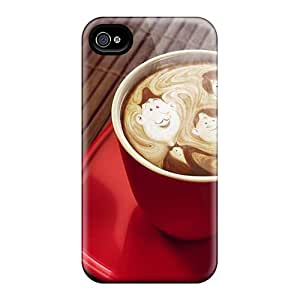 Cute Appearance Covers/GbO40327CLnl Coffee Cups Drinks Cases For Iphone 6