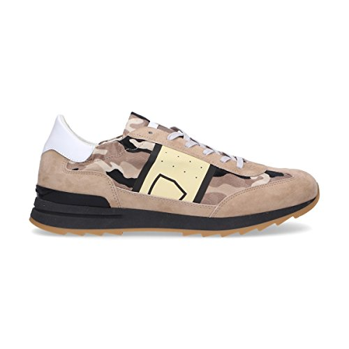 Philippe Model Sneakers Uomo Pslucs01 Camoscio Marrone
