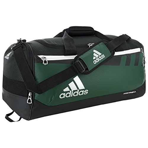 adidas Team Issue Duffel Bag, Dark Green, Medium