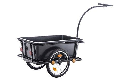 CLP Fahrrad-Anhänger LENNY, mit Sicherheitsdrehkupplung & Deichsel schwarz