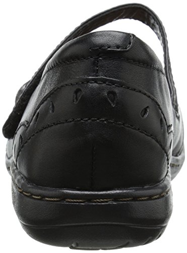 Cobb Hill Rockport Womens Petra Mary Jane Flat Black 4kGPbUbcTS