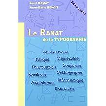 Le ramat de la typographie, 10e édition