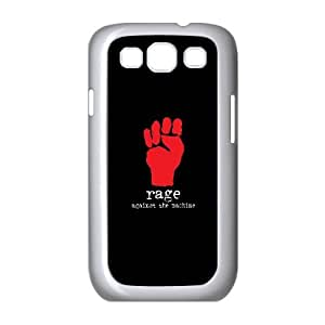 Rage Against The Machine Samsung Galaxy S3 9300 Cell Phone Case White Protect your phone BVS_684068